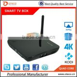 CS968 / TV01 Android TV Box Quad Core Smart TV Receiver Webcam Microphone RK3188 1.6GHz 2G/8G AV USB RJ45 OTG WiFi Mini PC