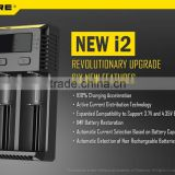 New Version NiteCore i2 Charger Intelligent I2 Battery Charger For 16340 10400 aa aaa14500 18650 26650 Flashlight Battery