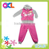Zhejiang famous OEM manufacturer baby clothes wholesale price toddler girls boutique clothing sets