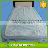 white color/blue color hospital gown nonwoven fabric sms 35gr & disposable nonwoven bed sheet