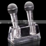 KTV microphone acrylic display stand