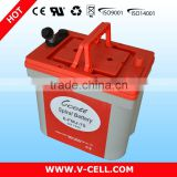 12V75Ah optima gel SLA maintaince free battery cells for instruments