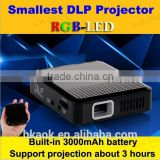 2015 popular LED projector protable Home theater video projector HDMI support 1080p DLP projector