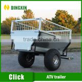 Galvanized Caged Utility ATV Box Trailer For Sales