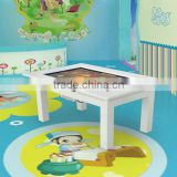 23inch LCD/LED infrared interactive multi touch screen table for children to learn and play