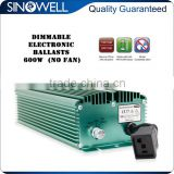 On Sale SINOWELL Competitive Quality 600w Dimmable Electronic Ballast