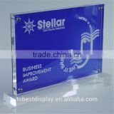 Greeting card display rack, point of purchase display, merchandise displays acrylic