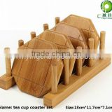 bamboo cutting board/ plate /cup coaster rack
