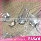 Easam hot total complete clear jelly nail art stamper tools with cap protected