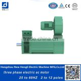 China factory three phase used electric induction ac motor