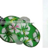 individual design embossed beautiful flower cute shoe mode soft pvc luggage tags steel