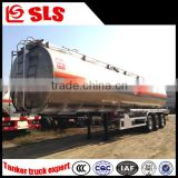 Fuel transport tanker trailer dimensions, oil tanker semi trailer for african friend