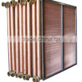 Copper tube fin air heater heat exchanger suppliers