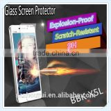 Best selling tempered glass screen protector for VIVO X5L,9H,2.5D, tempered glass screen protector with package