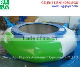 inflatable water trampoline game,inflatable water park item,inflatable water park jump bed
