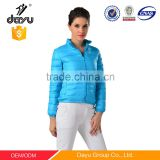 China famous down jacket production brand italy down jacket for women coat
