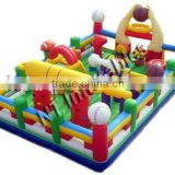 European Design Inflatable Obstacle Fun City Games Indoor Maze Outdoor Inflatable Playground for Kids Children Adult