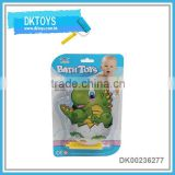 2016 cute design inflatable bathing toys dinosaur type