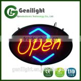 LED Neon Light Animated Motion Open Business Sign High Quality LED Board