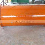 Permanent magnetic drum roller for conveyor belt