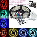 SMD5050 Magic Dream Color RGB LED Strip 5M 300 LedS 44 Keys IR Remote Controller 12V 5A Power Adapter Flexible Light