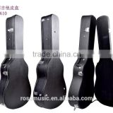 Nice quality Leather L type acoustic guitar case
