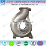 Steel Die Casting Water Pump Casing