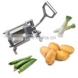 Manual Commercial French Fry Cutter Julienned,potato chip cutter