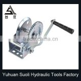 Manufacturing 1200lbs galvanized hand scaffold winch