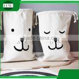 Baby Kids Children cotton canvas Toy Storage Bag Bear Pattern canvas Laundry sack Bag