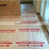 temporary clear plastic floor protection mat