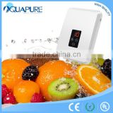 Ozone water purification system for fruit ozone washer and ozone generator air sterilizer
