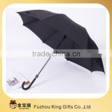 High quality windproof auto open straight Golf umbrella and Branded Golf Umbrellas