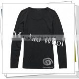 Men's Baby Alpaca & Merino Wool Knitted Crew for Promotion