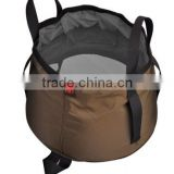 Hiking, carrying water,drinking water packing bucket bags