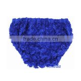 Baby Girls Romantic Royal Blue Rosettes Bloomers 2-3Y