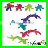 2017 Pet Dog Puppy Soft Plush Bungee Choose Toys Gecko Turtle