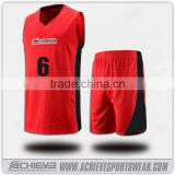 cheap basketball uniforms red basketball jersey and shorts designs