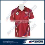 Newest cricket jersey cricket polo shirt