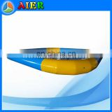 yellow and blue color water pond, mixed colors water pond, inflatable water pond