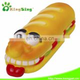 Long Bread Rubber Pet Products Pet Toys with Deep for Dogs,China Pet Toy Factory