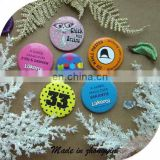 Colorful Button Badge With Pin
