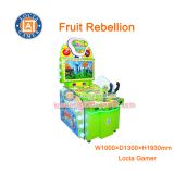 Zhongshan amusement equipment game machine Fruit Rebellion shooting game, kid game, video games arcade games, coin opera
