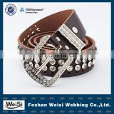 foshan weisi wholesale fashion custom beaded belts