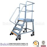Portable Construction Industrial Ladders with Wheels