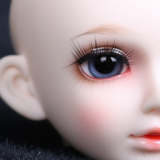 Frida 6-30mm new design glass moving eye in 18 inch doll accessories