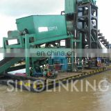 SINOLINKING Large Gold Bucket Dredger for Recovery Gold from River