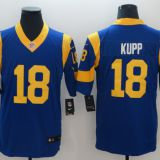 Los Angeles Rams #18 Kupp Blue/White/Yellow Jersey