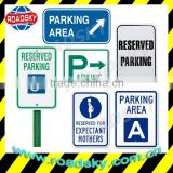 Parking Meaning Of Road Signs With Aluminum Board And Reflective Film