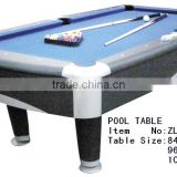 billiard table with modern design